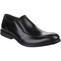 Chaussures Homme Mocassins Hush puppies Deering Mainstreet Black