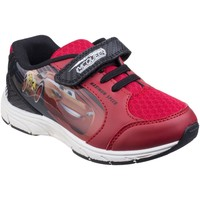 Chaussures Garçon Baskets basses Leomil CR000170 Cars Trainer Red