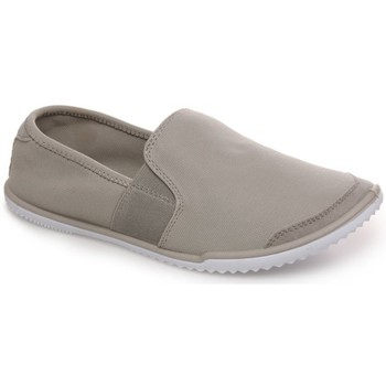 Chaussures la modeuse <strong>baskets</strong> slip on grises extensibles