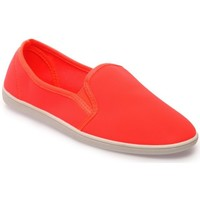 Chaussures Femme Baskets mode La Modeuse Slip-on orange fluo souple Orange