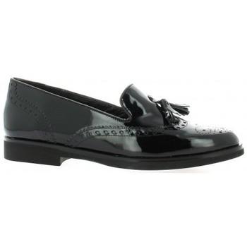 Chaussures Femme Mocassins Exit Mocassins cuir vernis Noir