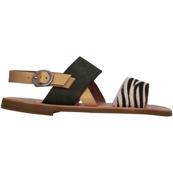 Chaussures Fille Sandales et Nu-pieds Pe'pe' Pe'pe' 01331-POTSHELAMPD Sandales Enfant Vert Vert