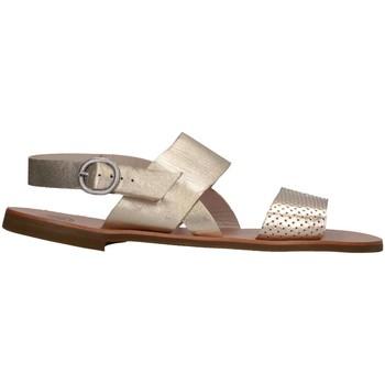 Chaussures Fille Sandales et Nu-pieds Pe'pe' Pe'pe' 01331-VITF/LAMPD Sandales Enfant Or Or