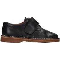 Chaussures Fille Richelieu Eli 2213P French shoes Enfant Bleu Bleu
