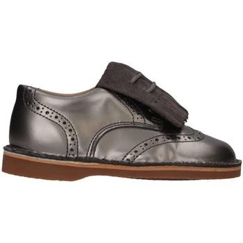 Chaussures Fille Richelieu Eli 2481 ACERO French shoes Enfant Gris Gris