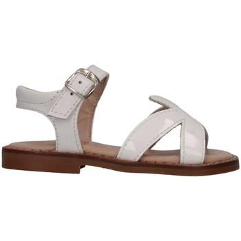 Chaussures Fille Sandales et Nu-pieds Eli 4179T BIANCO Sandales Enfant Blanc Blanc