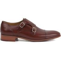 Chaussures Homme Derbies Heyraud DERBY BOUCLE FRANCOIS Marron