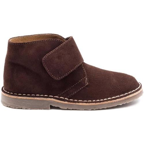 acheter en ligne 6ed66 ebc52 Boni Marius II - Chaussures enfant cuir scratch