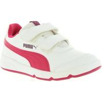 Chaussures Enfant Baskets basses Puma 190114 STEPFLEEX Blanco