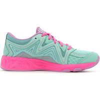 Chaussures Fille Running / trail Asics Noosa GS Ice Green / White / Hot Pink