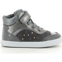 Chaussures Fille Baskets montantes Geox BABY KIWI GIRL B74D5A Gris