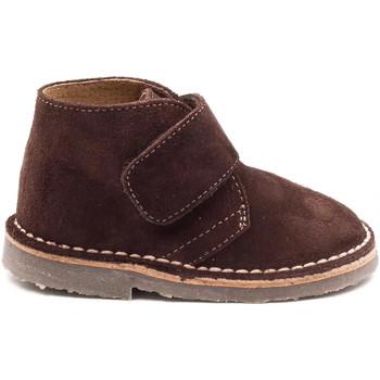 Chaussures Enfant Boots Boni Classic Shoes Boni Mini Marius - Chaussures bébé daim scratch Marron