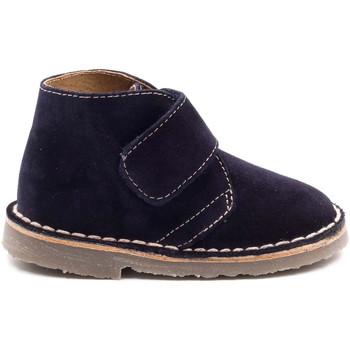 Chaussures Enfant Boots Boni Classic Shoes Boni Mini Marius - Chaussures bébé daim scratch Bleu Marine
