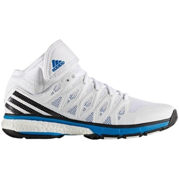 Chaussures Homme Baskets montantes adidas Originals Energy Volley Boost Blanc-Noir-Bleu