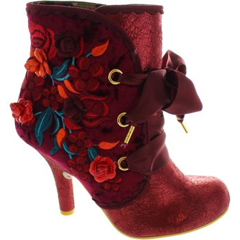 Chaussures Femme Bottines Irregular Choice Autumn Harvest rouge