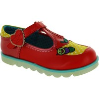 Chaussures Fille Ballerines / babies Irregular Choice Apple Of My Eye rouge