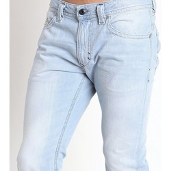 Vêtements Homme Jeans slim Diesel THAVAR 08521 Bleu Ciel