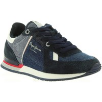 Chaussures Enfant Baskets basses Pepe jeans PBS30318 SYDNEY Azul