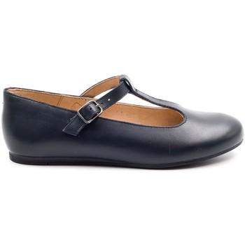 Chaussures Fille Ballerines / babies Boni Classic Shoes Ballerine en cuir à bride - MELODIE II Bleu Marine