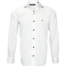 Vêtements Homme Chemises manches longues Emporio Balzani chemise mode flaminio blanc Blanc