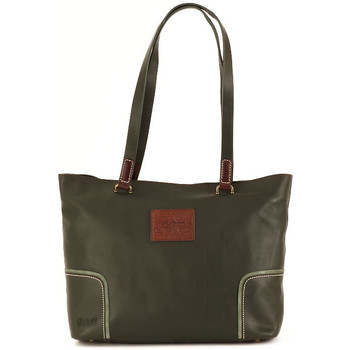 Sacs Femme Cabas / Sacs shopping La Martina MIRANDA SHOPPING GREEN Verde