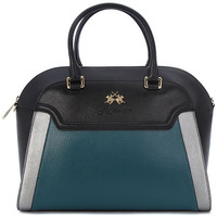 Sacs Femme Besaces La Martina PORTENA BLACK GREEN Multicolore