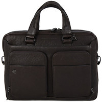 Sacs Sacs ordinateur Piquadro CARTELLA PORTA PC IN PELLE Marrone