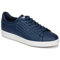 Chaussures Homme Baskets basses Emporio Armani EA7 CLASSIC U Bleu