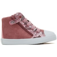 Chaussures Fille Baskets montantes Geox B72D5A B KIWI GIRL A rose
