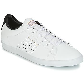 Chaussures Femme Baskets basses Le Coq Sportif AGATE LO S LEA/SATIN Blanc / Noir