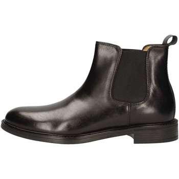 Chaussures Homme Bottes ville Hudson 740 Bottines Homme Noir Noir
