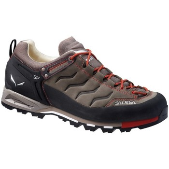 Chaussures Homme Baskets basses Salewa MS Mtn Trainer Leather Noir-Rouge-Marron
