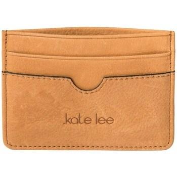 Sacs Femme Porte-monnaie Kate Lee porte carte en cuir ANYS Caramel