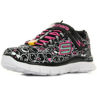 Chaussures Fille Baskets basses Skechers Skech Appeal noir