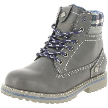 Chaussures Femme Bottines Wrangler wj17213 f gris