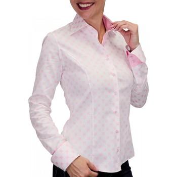 Vêtements Femme Chemises manches longues Andrew Mc Allister chemise imprime betsy rose Rose