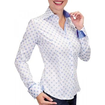 Vêtements Femme Chemises manches longues Andrew Mc Allister chemise imprimee betsy bleu Bleu