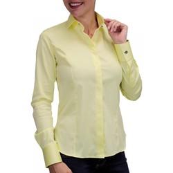 Vêtements Femme Chemises manches longues Andrew Mc Allister chemise bouton metal new weave jaune Jaune