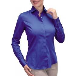 Vêtements Femme Chemises manches longues Andrew Mc Allister chemise bouton metal new weave bleu Bleu