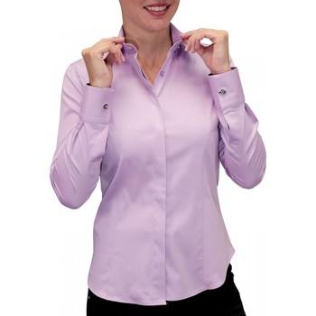 Vêtements Femme Chemises manches longues Andrew Mc Allister chemise bouton metal new weave parme Parme