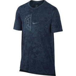 Vêtements Homme T-shirts manches courtes Nike T-shirt  Swoosh Arch bleu