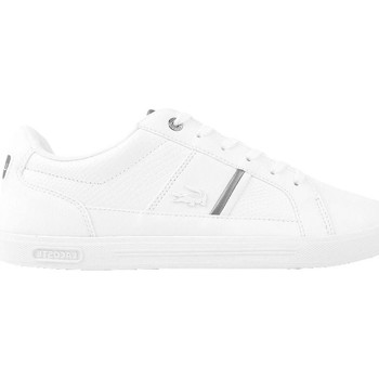 Chaussures Homme Baskets basses Lacoste Europa 417 Spm Wht Blanc-Gris