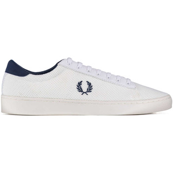 Chaussures Femme Baskets basses Fred Perry Baskets  Spencer Mesh Blanc Homme Blanc