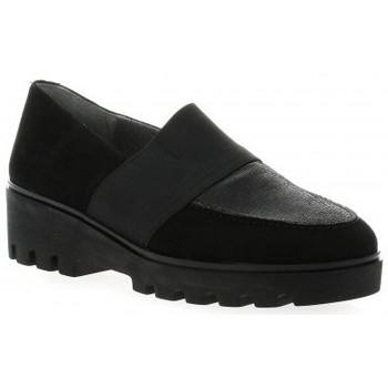 Chaussures Femme Mocassins Pao Mocassins cuir velours Noir