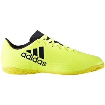 Chaussures Enfant Baskets basses adidas Originals X 174 IN J Jaune