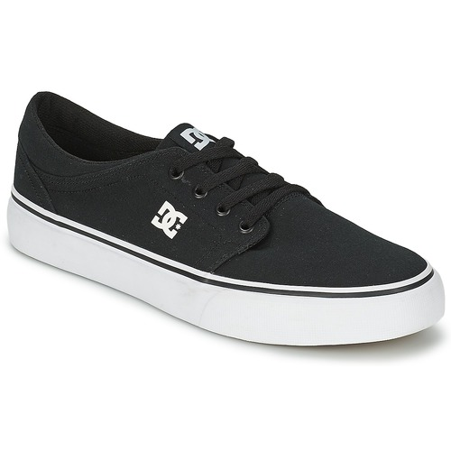 Chaussures Homme Baskets basses DC Shoes TRASE TX MEN Noir / Blanc