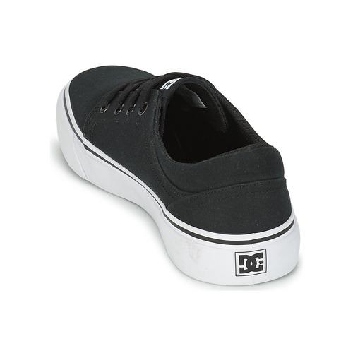 Men NoirBlanc Tx Homme Baskets Shoes Basses Dc Trase Chaussures OPZkuwTXi