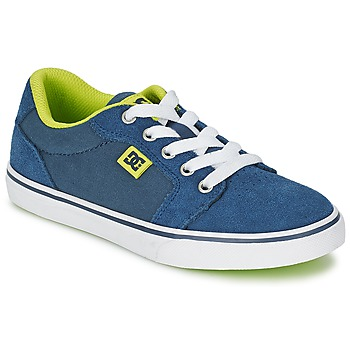 Chaussures Enfant Baskets basses DC Shoes ANVIL B SHOE NVY Bleu / Vert / Blanc