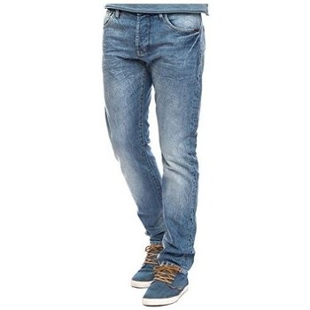 Vêtements Homme Jeans slim Freeman T.Porter DUSTEE SLIM DENIM F0366-34 Bleu Clair