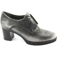 Chaussures Femme Low boots Melluso L5031 Anthracite chaussures en cuir femme jambe de force dcolle Grigio